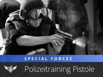 Polizei Training Police Techniques Swat Glock Pistole Schießtraining Special Forces Cobra Wega Einsatztraining Schauspieler Darsteller Stunt