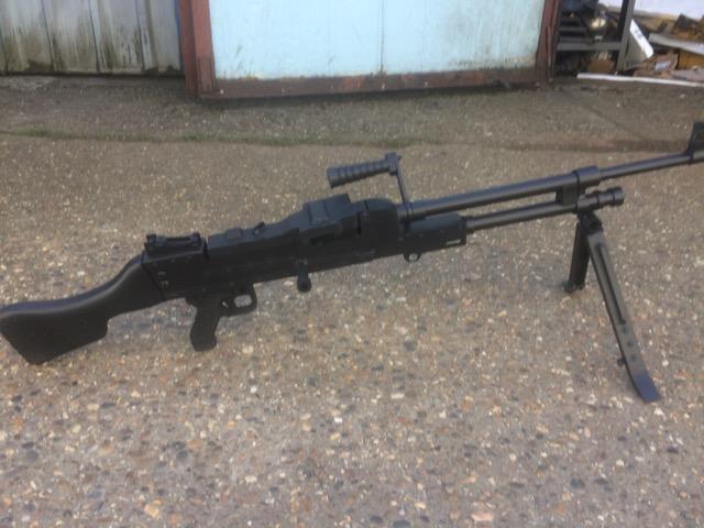 MG42 Deko Nachbau aus Metall Gussform