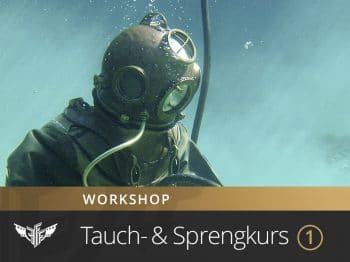 Unterwasser Sprengkurs sprengen lernen tauchen OWD AOWD Tauchkurs