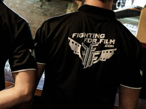 FightingForFilm.com T-Shirt Shirt Hemd Training Mikrofaser Offical FFF Uniform