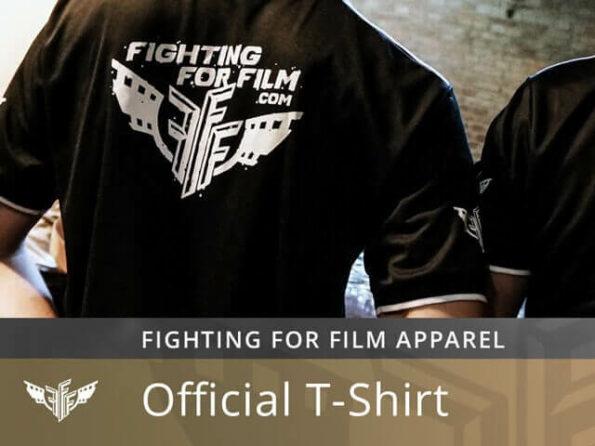 FightingForFilm.com T-Shirt Shirt Hemd Training Mikrofaser Offical FFF Uniform