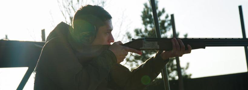 Schießtraining Wien Tontauben Gewehr Schrot Flinte Skeet Trap