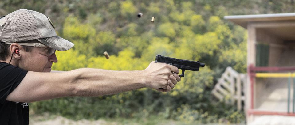 Gutschein Schießtraining Wien Pistole schießen zum Geburtstag